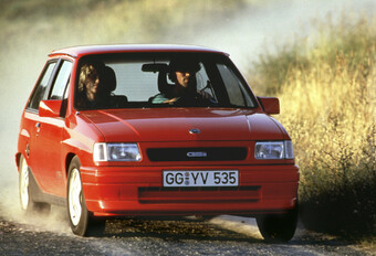 Throwback: Opel Corsa A GSi (1987-1992) #1