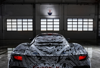 Maserati MC20 en hommage à Stirling Moss #1