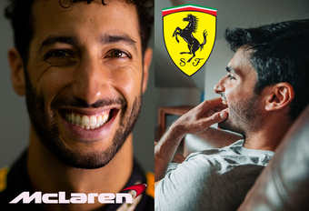 Officieel: Ricciardo naar McLaren, Sainz naar Ferrari! #1