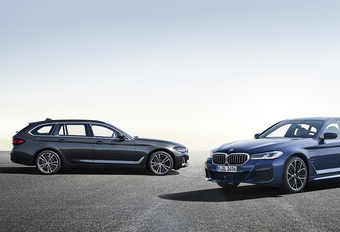 BMW Série 5 : technologique et hybride #1