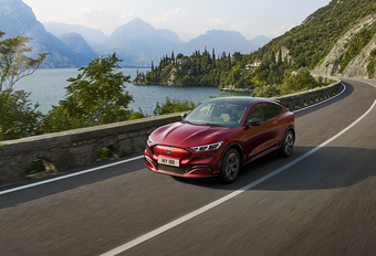 Ford Mustang Mach-E pas in 2021 naar Europa #1