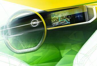 Le tableau de bord numérique de l'Opel Mokka #1