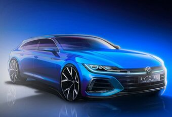 Volkswagen Arteon : teaser avec le shooting brake #1