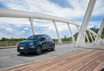 Fiat 500 La Prima : en berline #1