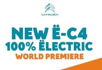 Citroën ë-C4: de elektrische C4 #1