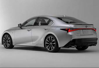 Gelekt: Lexus IS - de Japanse BMW 3 Reeks? #1