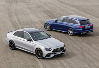 Mercedes-AMG E 63 4Matic+ : encore plus forte #1