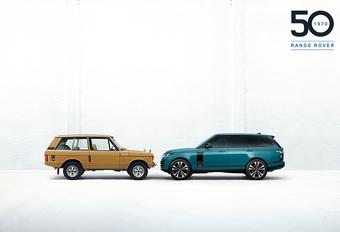 Range Rover Fifty viert vijftigste verjaardag #1