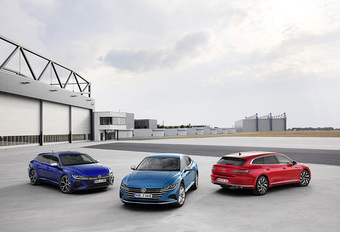 Volkswagen Arteon : Shooting brake en bonus #1