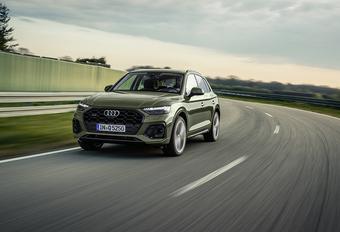 Audi Q5: subtiele facelift  #1