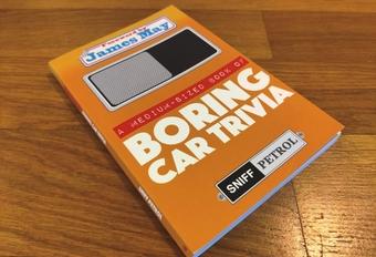 Gelezen: A medium-sized book of boring car trivia