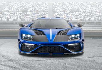 Ford GT wordt compleet van de pot gerukte Le Mansory #1