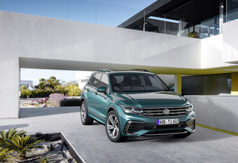 VW Tiguan: facelift met Golf-DNA #1