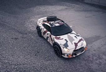 Nissan GT-R gaat op Safari #1