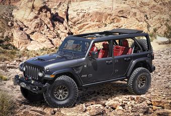 Jeep wil spotlight Bronco stelen met Wrangler V8 Rubicon 392 Concept #1