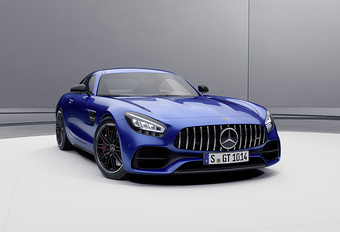 Restructuration de l'offre pour la Mercedes-AMG GT #1
