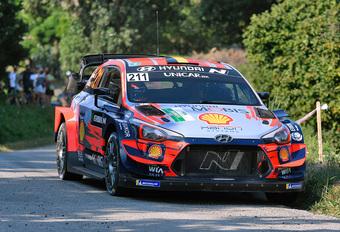 Thierry Neuville al even opnieuw aan de slag in rally van Alba #1