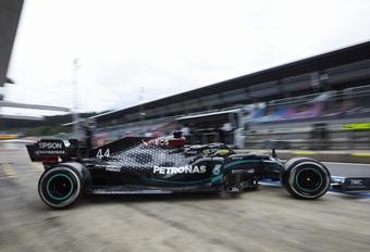 Mercedes blijft in de F1