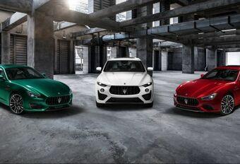 Alle Maserati's worden Trofeo's