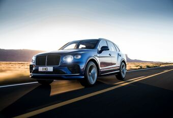 Bentley Bentayga : le W12 toujours au catalogue  #1
