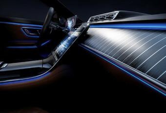 La technologie est reine à l'intérieur de la nouvelle Mercedes Classe S #1