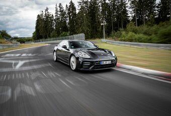 La nouvelle Panamera Turbo boucle le Nürburgring en 7:29,81 #1