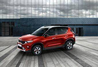 Kia Sonet : petit SUV musclé pour l'Inde  #1