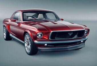Aviar R67 : la fusion d'une Mustang et d'une Model S #1