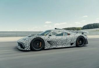 Mercedes-AMG Project One is klaar voor de Nürburgring #1