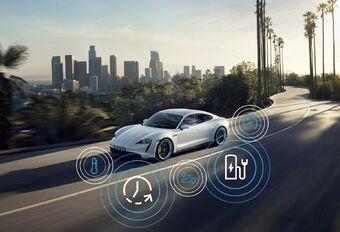 La Porsche Taycan améliore son sprint et son chargement  #1