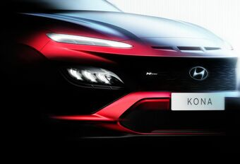 Hyundai Kona : la N Line s'annonce #1