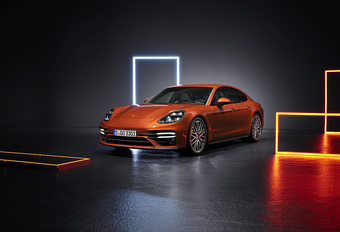 Porsche Panamera Turbo S facelift verliest 'E' #1