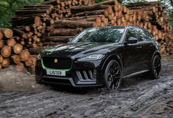 Lister Stealth is blubberdikke Jaguar F-Pace SVR #1