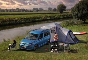 Volkswagen Caddy California wil kamperen #1