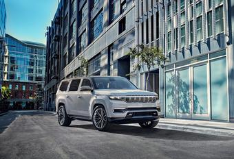 Jeep Grand Wagoneer Concept wordt nieuwe topmodel #1