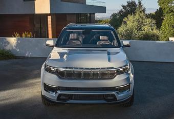 Jeep Grand Wagoneer krijgt zeven schermen #1