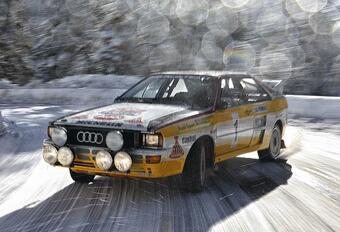 Autoworld Brussels célèbre les 40 ans de l'Audi Quattro #1