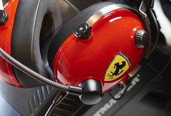 Thrustmaster lanceert nieuwe Ferrari-headset met surround #1