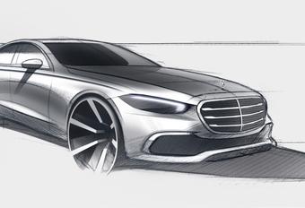 Mercedes Classe S : depuis la planche à dessin #1