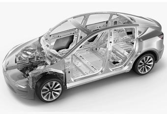 Tesla mise sur l'aluminium moulé  #1