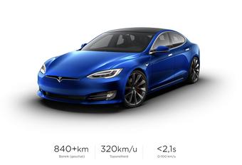 Tesla Model S Plaid moet snelste productiewagen ooit worden #1