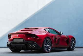 Ferrari Omologata is one-off op basis van de Superfast #1