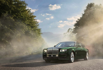 Rolls Royce Ghost Extended : le luxe c'est l'espace #1