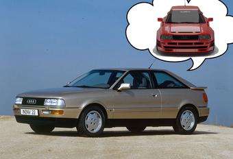 B3-generatie Audi Coupé wordt retromoderne RS #1