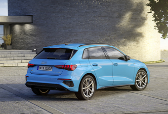 Audi A3 Sportback 40 TFSI e heet niet meer e-tron #1