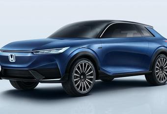 Honda e:concept wordt elektrische SUV  #1