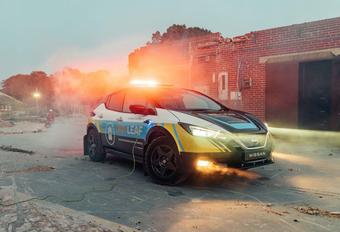 La Nissan RE-Leaf sauve des vies #1