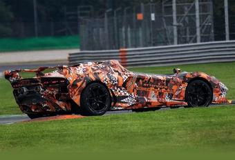 Lamborghini toont macchina veloce aperta #1