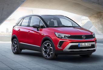 Facelift Opel Crossland verliest X #1
