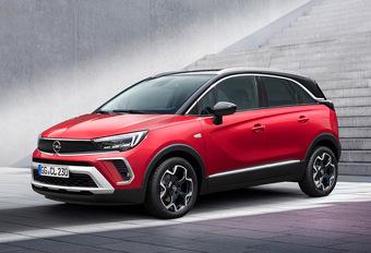 Facelift voor Opel Crossland #1